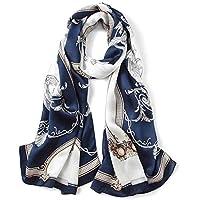 J.Memi Gasa Chal Abrigo De La Bufanda del Mantón Diseñador De La Tela Escocesa De Cozy Chequeado Mujeres Señora,Sedosa Mantón Fular Chal Fiesta,013