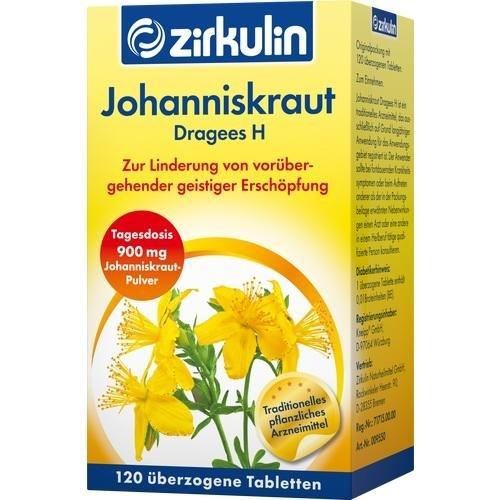 Johanniskraut Dragees H 120 stk