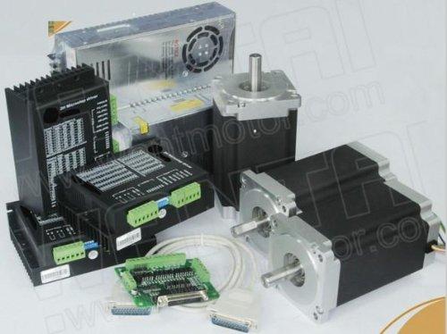 GOWE 3eje motor paso a paso NEMA 341600oz, 3.5A doble eje CNC tóner, impresora 3d