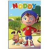 Noddy Characters Poster Satin Matt Laminated - 91.5 x 61cms (36 x 24 Inches)