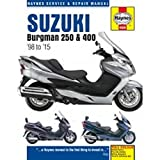 Reparaturanleitung - 702.51.95 - 4909 - Suzuki Burgman 250/400