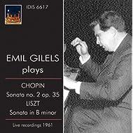 """Chopin: Piano Sonata No. 2, """"Funeral March"""" - Liszt: Piano Sonata in B minor (1961)"""