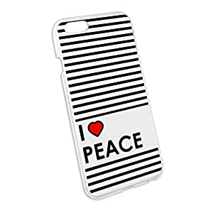 I love Herz Peace Snap On Hard Schutzhülle für Apple iPhone 66S