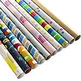 Hallmark - Confezione da 10 rotoli da 2 m ciascuno, 20 m in totale)