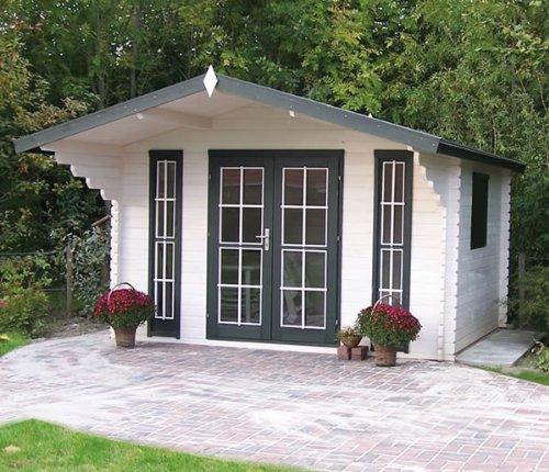 45 mm Gartenhaus Inglund ca. 380x320 cm (unbehandelt)