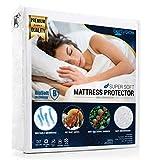 SoftySide Wasserdichter Matratzenschoner, Superweich, mit Bio-Soft (180x200+25cm) - Antibakteriell, Milbendicht,Antiallergisch, Atmungsaktiv und 100 Waschen
