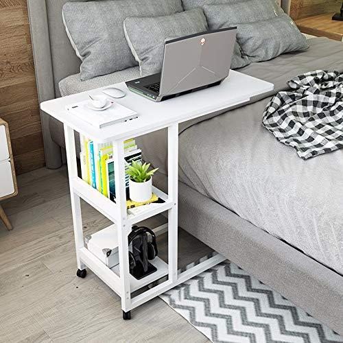 Sunlmg comodino laptop scrivania letto scrivania semplice pigro tavolino mobile laterale comodino