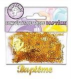 CONFETTIS DE TABLE - BAPTEME OR...