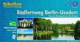 Bikeline Radfernweg Berlin - Usedom. Von der Metropole an die Ostsee. 1:75000; wasserfest und reißfest; GPS-Tracks Download