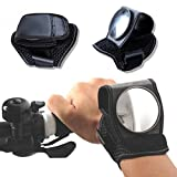 #8: Generic Hand Ride Bicycle Rear View Mirror Wristband Reflective Mirror Cycling Accessories