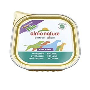 Almo Nature Bio Pate Lamb Dog Food 300G X 9