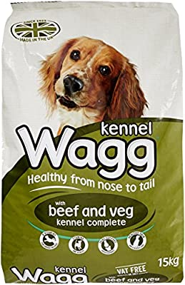 Wagg Beef and Veg Kennel Complete Dog Food, 15 kg by IPN