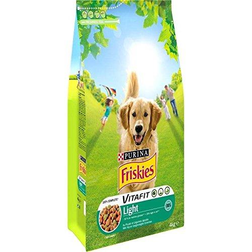 Friskies chien light 3.9KG - Prix Unitaire - Livraison Gratuit Sous 3 Jours