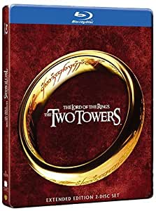 The Lord of the Rings: Two Towers STEELBOOK (Extended Edition) [2 Blu-ray]