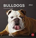 Bulldogs Postkartenkalender - Kalender 2018