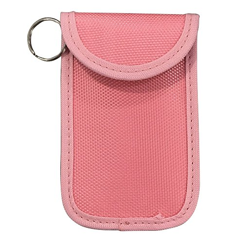 RFID-blockierender Auto Schlüsselanhänger Tasche Beutels–Blocks verteidigt und Marmelade RF Signale, SMS WLAN, 4g, NFC und RFID (Kreditkarte Tri-fold)