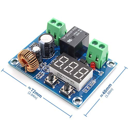 Busirde XH-M609 DC 12V-36V Spannungsschutzmodul Low Voltage Disconnect Precise Unterspannung Protection Board -