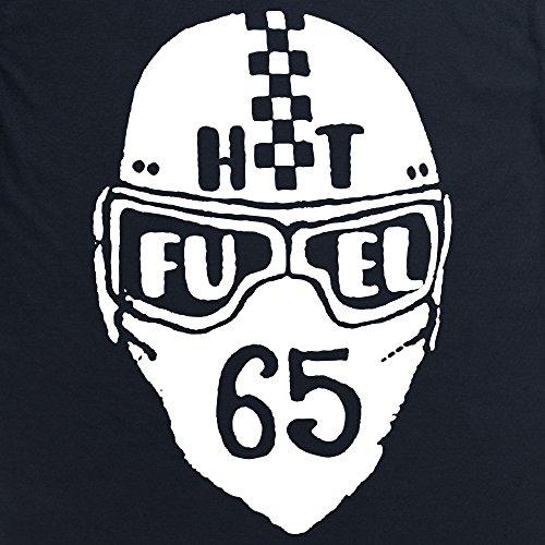HotFuel Helmet T-Shirt, Herren Schwarz