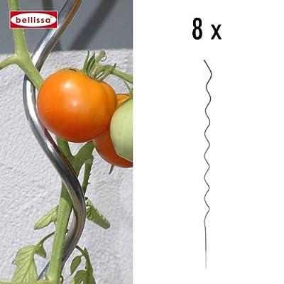 Aluspirale 8-er Set H. 170 cm 10010 von bellissa bei Du und dein Garten