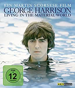 George Harrison: Living in the Material World / Deluxe Edition, exklusiv bei Amazon.de (2 DVDs, Blu-ray und CD)  [Deluxe Edition] [Deluxe Edition]