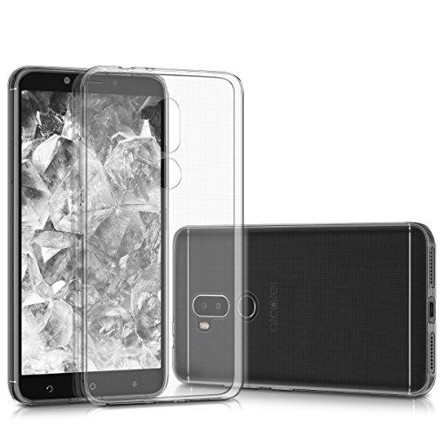 kwmobile Alcatel A7 XL Hülle - Handyhülle für Alcatel A7 XL - Handy Case in Transparent