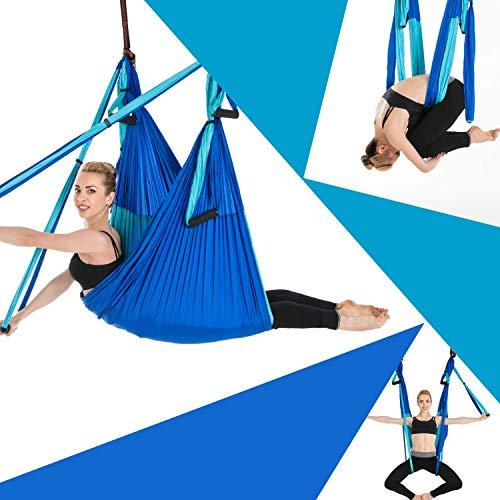 Sinbide Hamaca de Yoga, 250 * 150cm, Columpio Trapecio Set,...