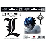 Abystyle - ABYDCO149 - Ameublement et Décoration - Death Note - Stickers - 2 Planches - L - X5 - 16 x 11 cm
