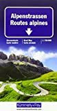Alpenstrassen Strassenkarte: Massstab 1:750 000 (Kümmerly+Frey Strassenkarten) -
