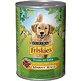 Purina Friskies Trozos en Salsa con Buey y Pollo  Lata 1,2kg