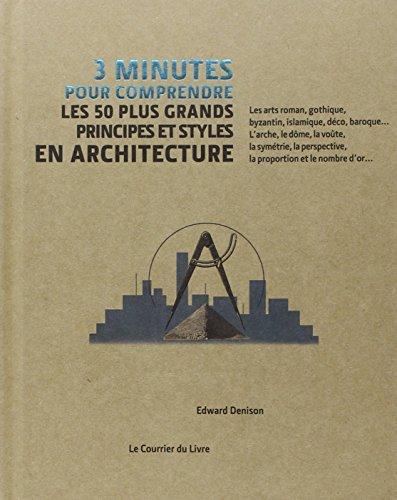 3 minutes pour comprendre les 50 plus grands principes et styles en architecture par Edward Denison