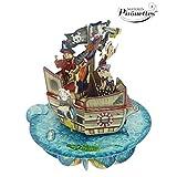 Santoro 3d Pirouette carte de vœux-Bateau de pirates...