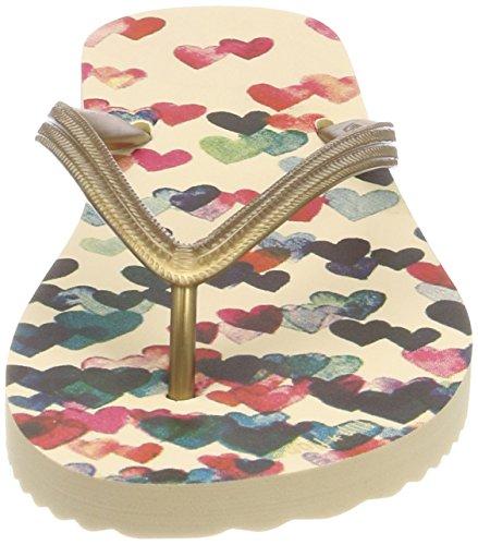 flip*flop Damen Fliphearts Zehentrenner Mehrfarbig (Sombrero)