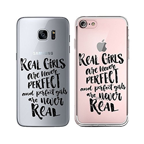 Blitz® TAKE IT EASY motifs housse de protection transparent TPE caricature bande iPhone Fuck you M13 iPhone 5 Real Girls M7