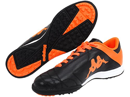 Kappaplayer Tg Base - Chaussures De Football Pour Homme Black-orange Fl