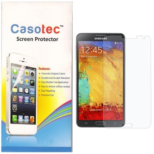 Casotec Super Clear Screen Protector for Samsung Galaxy Note 3 N9000