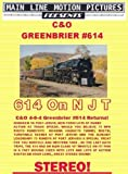 C&O 614 on NJT, Chesapeake & Ohio Greenbrier #614 Returns to Steam!