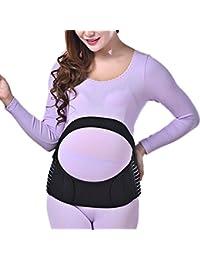 Zhhlaixing Cinturón de maternidad Breathable Maternity Belt Pregnancy Support Waist Back Abdomen Belly Band Prenatal