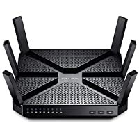 Tp-Link Ac3200 Tri-Band Wireless Gigabit Cable Gaming Router, 1 GHZ Dual-Core Cpu, 3 Co-Processors, USB 3.0, 2.0 Ports, Beamforming Technology,(Archer C3200)