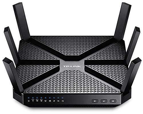 TP-Link Archer C3200 Router Gigabit Tri-Band, Processore Dual Core 1 GHz ,...