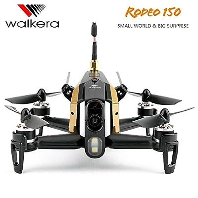 Ocamo Walkera Rodeo 150 Camera Drone 600TVL CAM 5.8G FPV 2.4GHz Transmitter 6 Axis Racing Drone RC Quadcopter Mini Drone with Camera