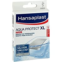 Hansaplast Med Aqua Protect XL 6 cm x 7 cm Pflaster, 5 St. preisvergleich bei billige-tabletten.eu