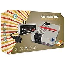 Hyperkin - Consola Retron 1 HD, Color Gris + 1 Mando (Nes)