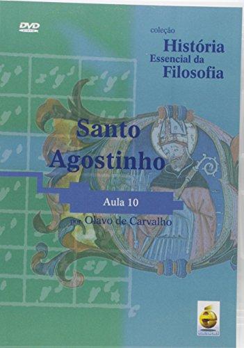 Santo Agostinho. Aula 10 - Coleção História Essencial Da Filosofia (+ DVD) (Em Portuguese do Brasil)