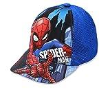 Marvel Spiderman Jungen Cap Kappe Schirmmütze (54, Hellblau)