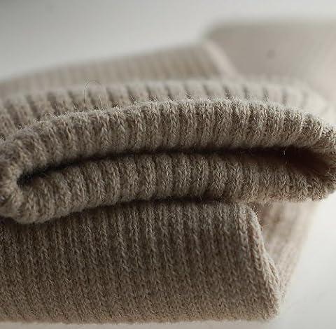 Neotrims Knit Rib Fabric & Cuffs Bande de tricot sans coutures Mélange acrylique et élasthanne Coloris au choix Vente au mètre - Gris - Stone, Tubular (7cm)