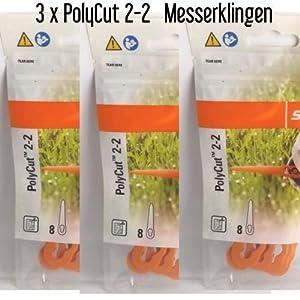 Stihl Lame Poly Cut 2–2coltelli di plastica Poly Cut 2–2FSA 45decespugliatore 40080071000