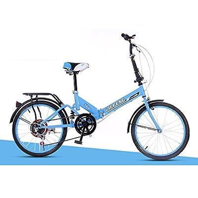 XQ- XQ-TT-610 20 Zoll Unterschiedliche Geschwindigkeit Faltbares Fahrrad Dämpfung Fahrrad Erwachsene Männer Und Frauen Studentenauto