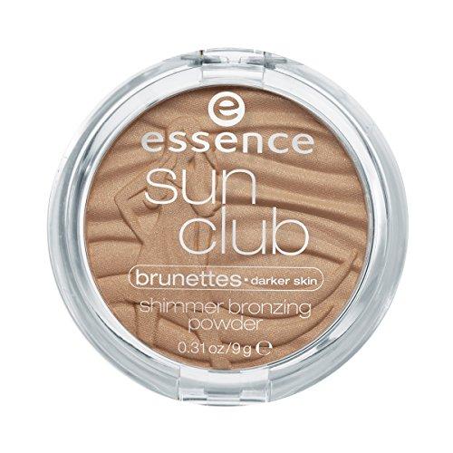 Shimmer Bronzer (essence Bronzer sun club shimmer bronzing powder brunettes-darker skin suntanned 20, 9 g (1St))