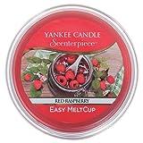 Yankee Candle coupelle de cire «Framboise rouge» pour diffuseur Scenterpiece™, rouge