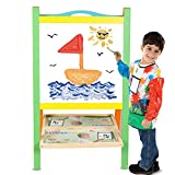 Best Toddler Easels - Baybee 2-in-1 Premium Deluxe Standing Art Easel | Review